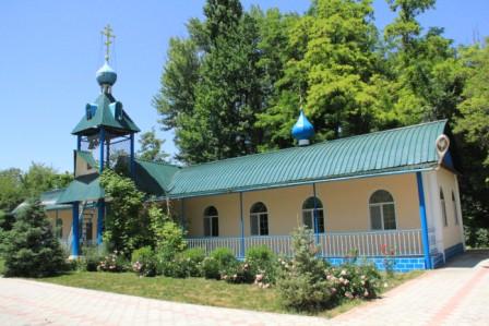 Храм богоявления с.Моловодное